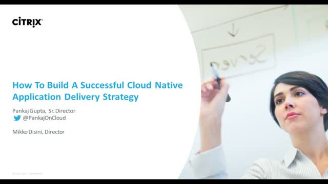 How to build a successful cloud native application delivery strategy