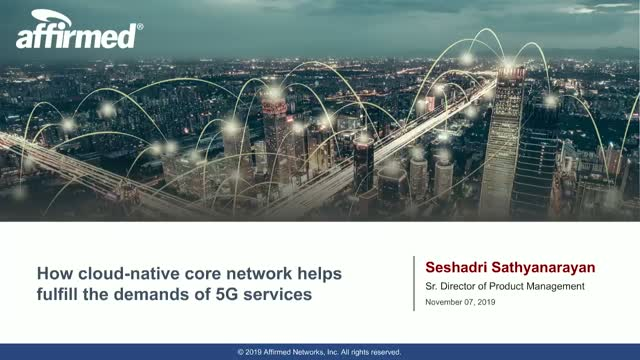 How cloud-native core network helps fulfill the demands of 5G services