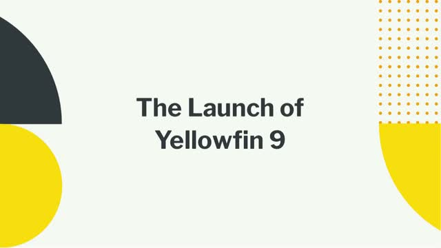 The Launch of Yellowfin 9 (EMEA)