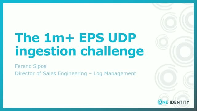 You can achieve 1m+ UDP messages per second ingestion challenge