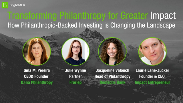 Transforming Philanthropy for Greater Impact