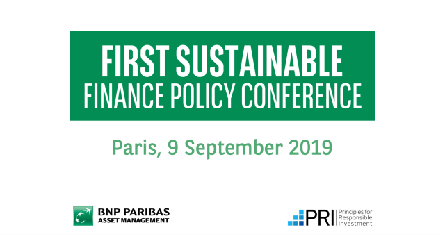 PIP19 -Sustainable Policy Conference