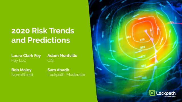 2020 Risk Trends and Predictions