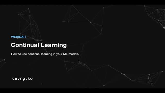 How to use continual learning in your machine learning models
