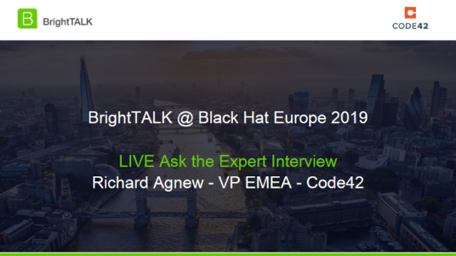 Ask the Expert - Interview with Richard Agnew - VP EMEA - Code42