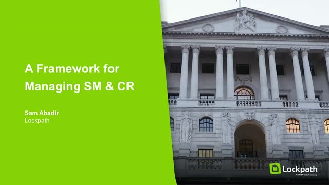 A Framework for Managing SMCR