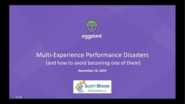 Multi-Experience  Performance Disasters and How to Avoid Them