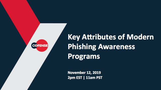 Key Attributes of a Modern Phishing Awareness Program