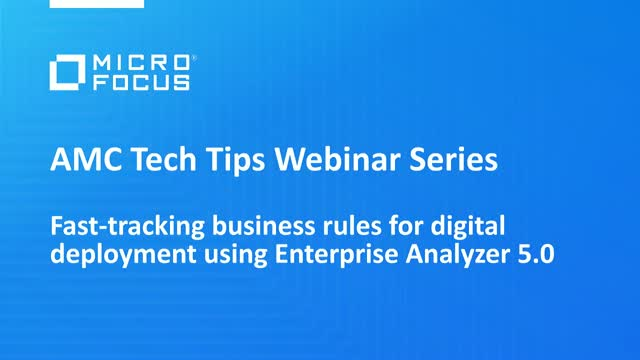Tech Tips: Fast-tracking business rules for digital deployment