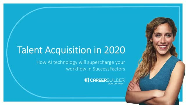 TA in 2020: how AI tech will supercharge your workflow in SuccessFactors