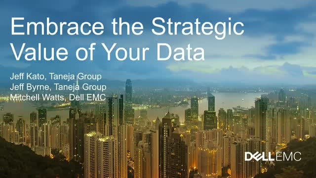 Embrace the Strategic Value of Your Data