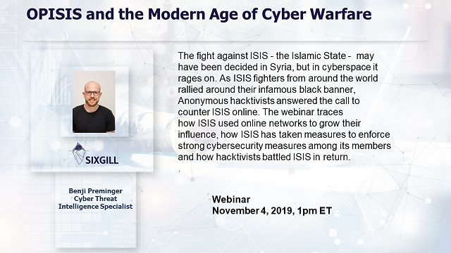 OPISIS and the Modern Age of Cyber Warfare