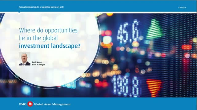 Where do the opportunities lie in global markets for 2020?