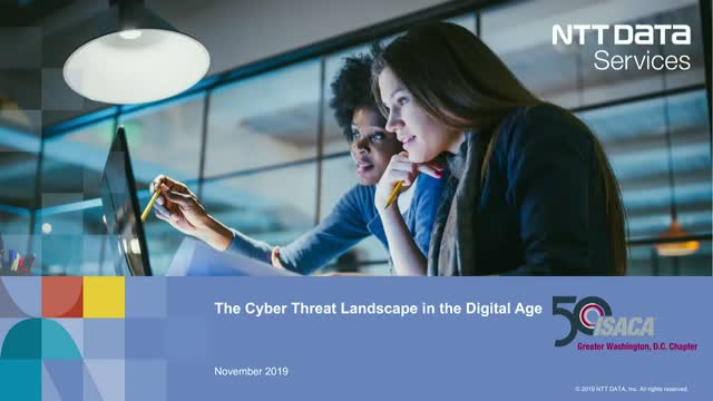 The cyber threat landscape in the digital age