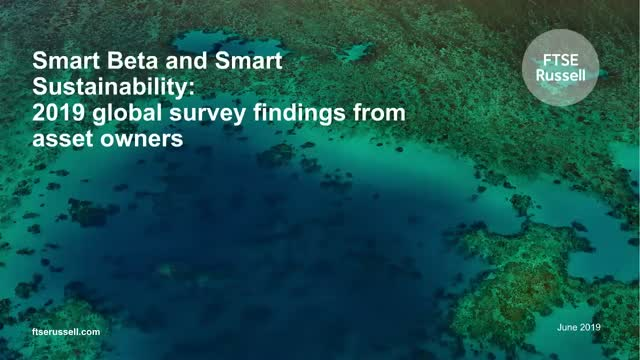 Smart Beta Survey 2019 - The rise of smart sustainability
