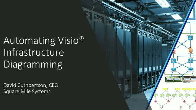 Automating Visio Infrastructure Diagramming