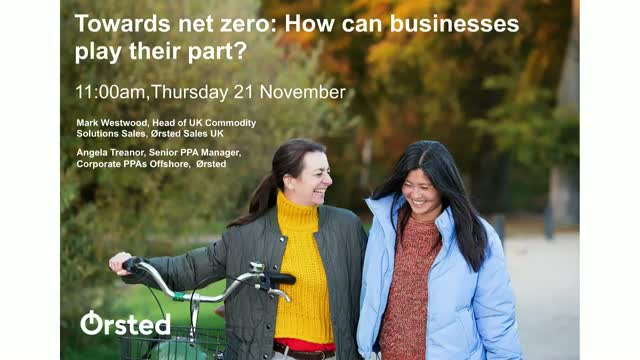 Towards net zero: how can businesses play their part?