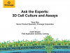 Ask the Experts: 3D Cell Culture and Assays