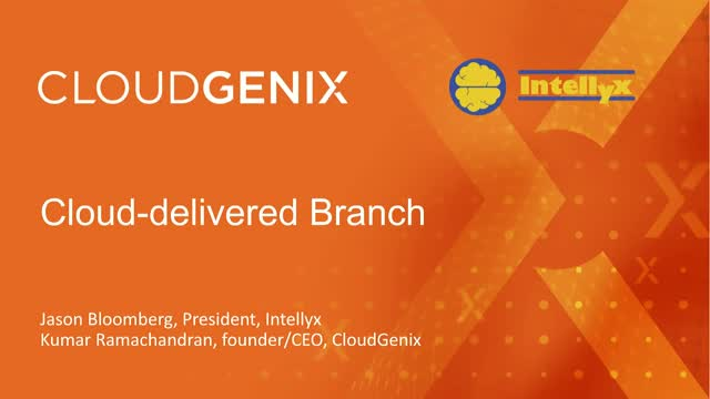 A New Approach to Branch Office Infrastructure: The Cloud-Delivered Branch