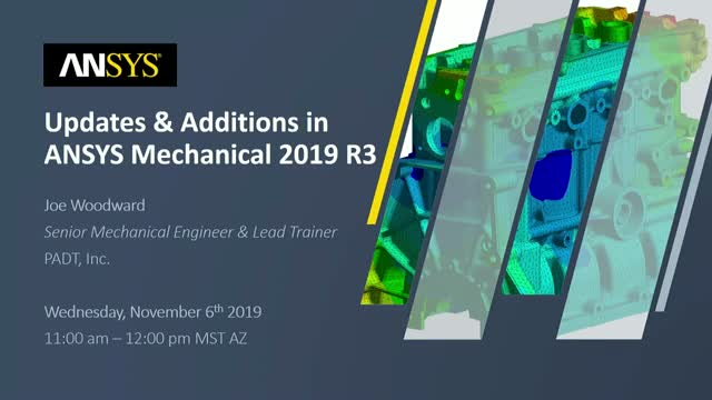 Updates and Additions in ANSYS Mechanical 2019 R3