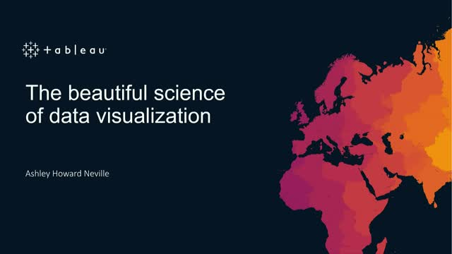 The beautiful science of data visualization