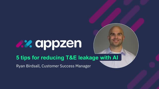 5 Tips for Reducing T&E Leakage with AI