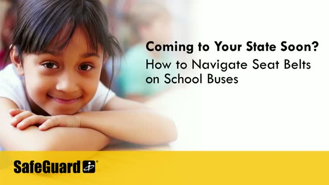 Coming to Your State Soon? How to Navigate Seatbelts on School Buses