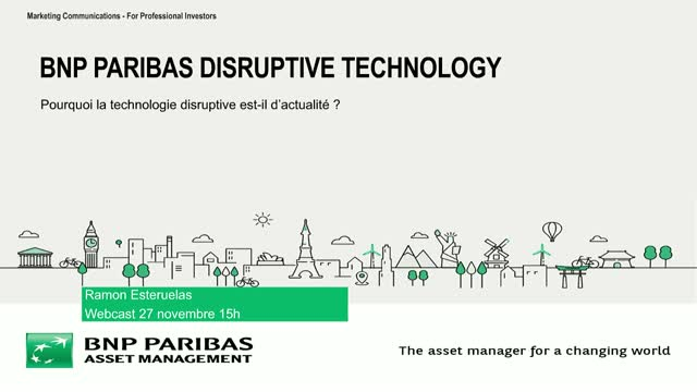 Disruptive Technology webcast