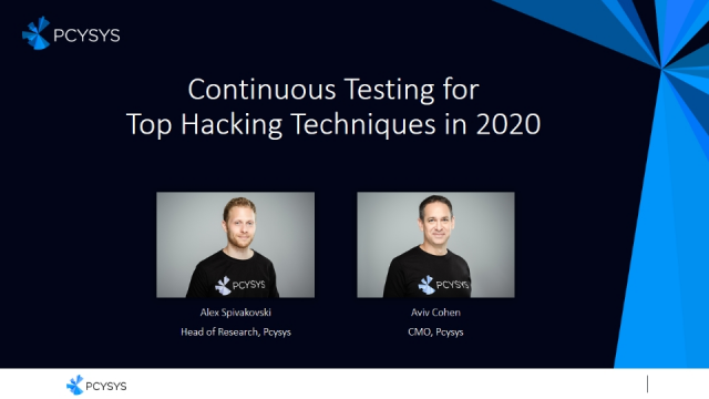 Continuous Testing for Top Hacking Techniques in 2020