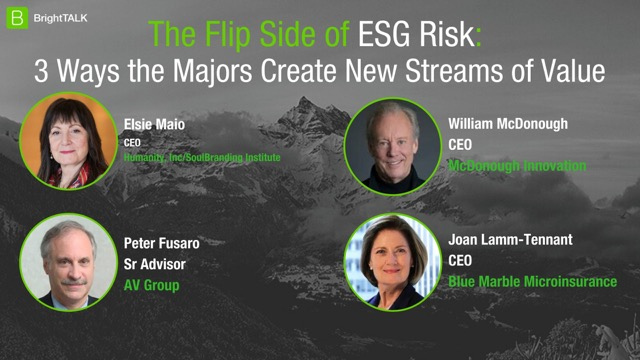 The Flip Side of ESG Risk: 3 Ways the Majors Create New Streams of Value