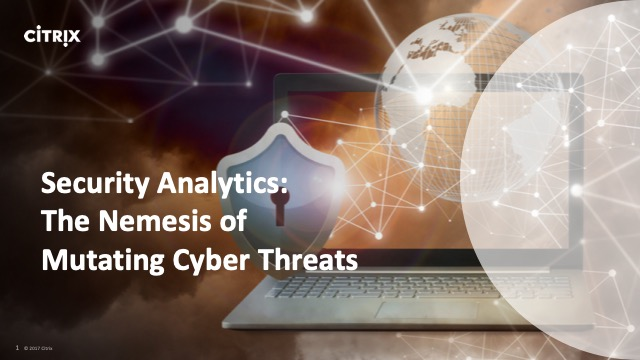 Security Analytics: The Nemesis of Mutating Cyber Threats
