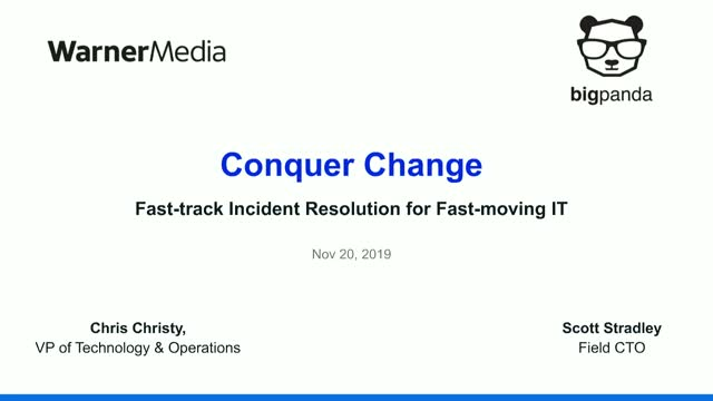 Conquer Change—Fast-track Incident Resolution for Fast-moving IT