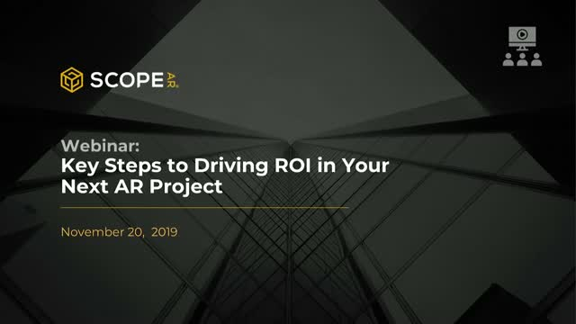 Key Steps to Driving ROI​ in Your Next AR Project