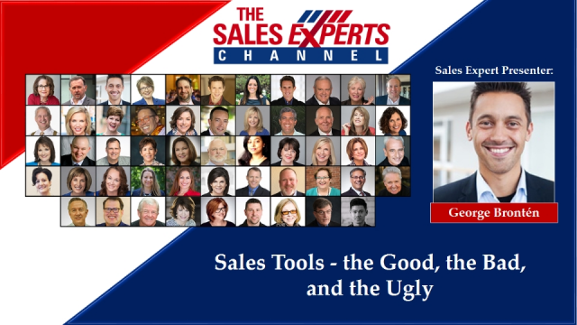 Sales Tools – the Good, the Bad, and the Ugly