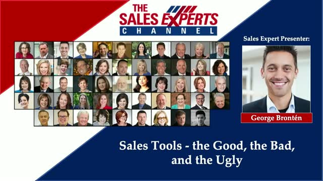 Sales Tools - the Good, the Bad, and the Ugly