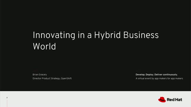 Innovating in a hybrid business world