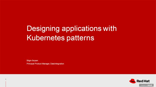 Designing Applications with Kubernetes patterns