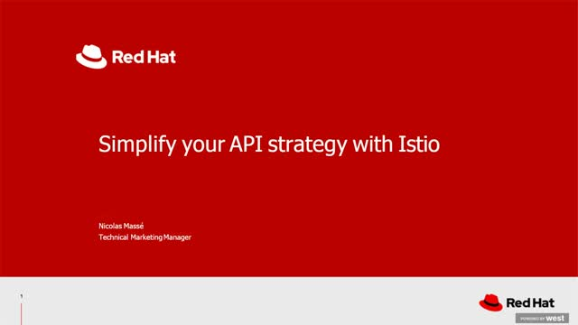 Simplify Your API Strategy with Istio