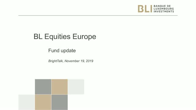 Fund update - BL Equities Europe
