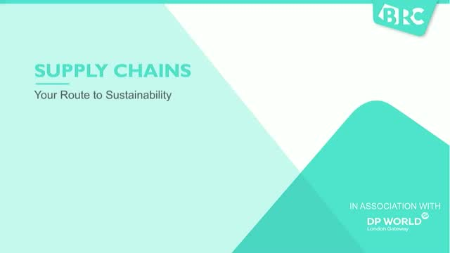 Supply Chains: Your Route to Sustainability