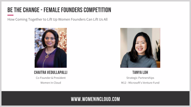Be The Change: How Coming Together to Lift Up Women Founders Can Lift Us All