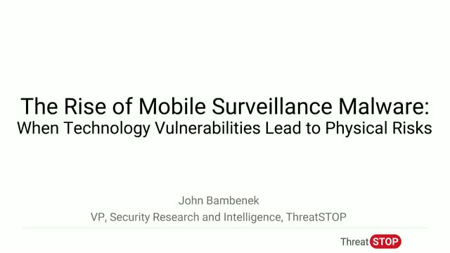 The Rise of Surveillance Mobile Malware