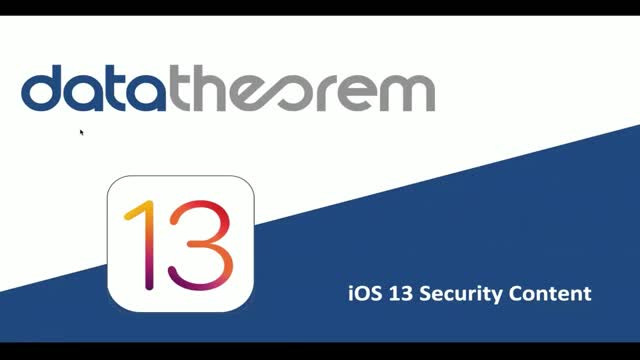 How to Leverage iOS 13 for App Security