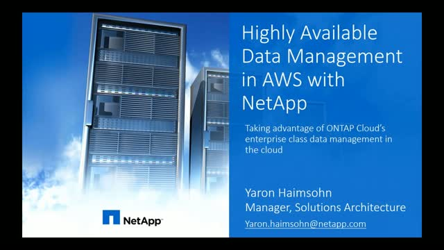 How to Achieve High Availability in the Cloud