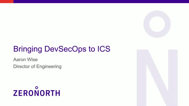 Bringing DevSecOps to Industrial Control Systems