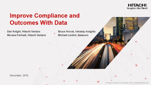 Improve Compliance and Outcomes with Data