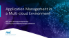 Application Management in a Multi-cloud World