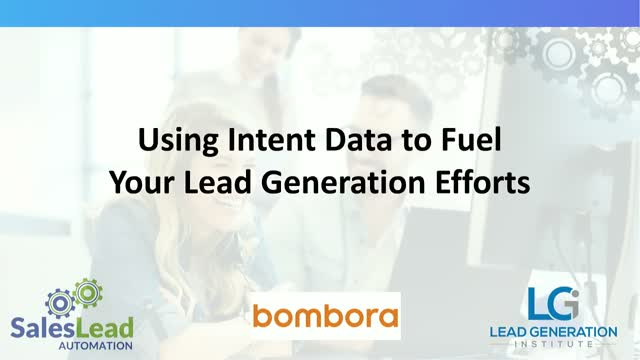 Using Intent Data to Fuel Your Sales Automation Programs