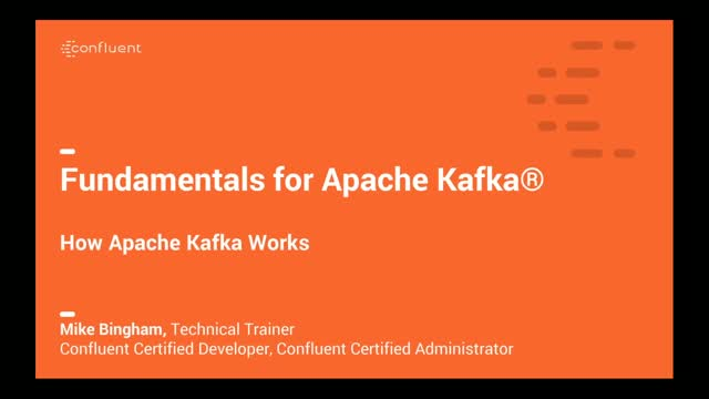 How Apache Kafka® Works