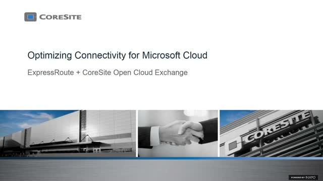 Optimizing Connectivity for Microsoft Cloud
